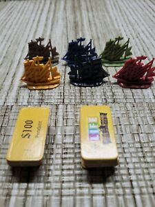 Pirates Of The Caribbean Life Game Replacement Ships & Tiles