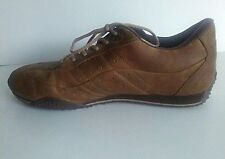 KangaROOS DYNA VETTE51 Mens 13M Brown Upper Leather Lace Oxford Sneakers