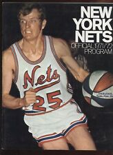 March 28 1972 ABA Basketball Program Indiana Pacers at New York Nets