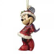 Disney Weihnachts Ornament Minnie Mouse Figur Anhänger Enesco A28240