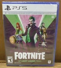 Fortnite - The Last Laugh Bundle (Sony PlayStation 5, 2020) FACTORY SEALED *bc2