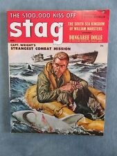 Stag Men's Pulp/Adventure Magazine March 1957