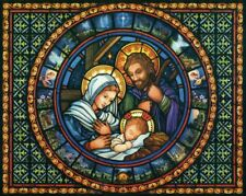 Holy Family  - Chart Counted Cross Stitch Patterns Needlework DIY DMC Color