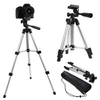 Professional Tripod Stand Tilt Pan Head For Digital Camera Camcorder Video + Bag