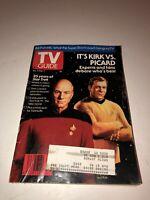 TV GUIDE #2005 AUG 1991 Kirk vs. Picard - 25 Years of Star Trek
