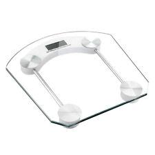Bascula De Baño Digital Cuadrada Transparente Cristal KXCP-B01 Precision 180 Kg