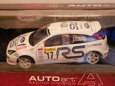 AUTOART FORD FOCUS WRC DELECOUR/GRATALOUP 2001 #17 MONTE CARLO DIE-CAST 1:18