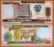 Mozambique,  50000 (50,000) meticais, 1993, Pick 138, UNC