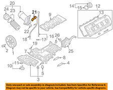 AUDI OEM 08-12 R8 Engine-Oil Filter Housing Gasket 079103121BE