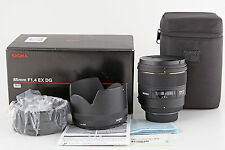 Sigma AF 85 mm 1:1,4 EX DG HSM für Nikon