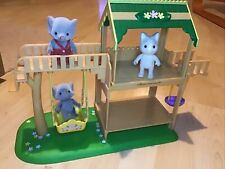 Sylvanian Families Garden Playground with Three Figures
