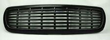 Dodge Dakota Durango 97-04 Front Horizontal Gloss Black Bumper Hood Grill
