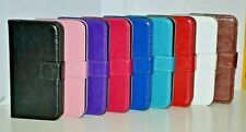 For iPhone 4 4S Classic Business Wallet Leather Card Flip Case Cover Stand
