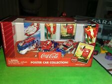 2003 Johnny Lightning 1:64 Coca Cola Set of 3 Poster Car Collection SEALED VW Bu