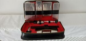 Vintage Men's Germany Complete Grooming Set Shaver  Clipper Comb Hygiene