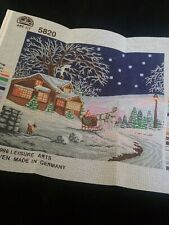 Winter Scene Needlepoint Canvas Only by Designs for the Needle 1998 Germany