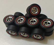 Hot Wheels Red Line Deep 5 Spoke Tires Real Riders 4 sets For Custom Size M 13mm