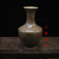 Chinese ancient antique hand make Jade pot  Spring bottle