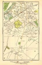 Surbiton. gancio, lunghi Ditton, Tolworth, southborough, Surbiton 1923 OLD MAP