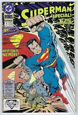 Superman Special #1 - 64 pg. spectacular 1992 - Signed book. *NM.