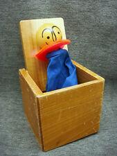 Vintage Jack In The Box Creative Playthings Japan Wood