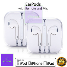 100% Genuine Apple Headphones Earphones Earpods With Mic For iPhone 6S 6 5S 5