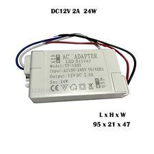 24W DC12V  Power Adaptor  Transformer Switch Driver LED Strips, MR16 CCTV A++