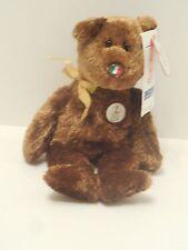TY Beanie Baby 2002 FIFA Champion Bear Korea/Japan Licensed NWT