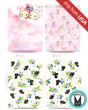Genuine 2pcs San-X Sentimental Circus Nyanko Cat A4 File Folder Clear File Cute