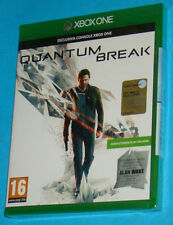 Quantum Break - Microsoft XBox One - PAL New Nuovo Sealed