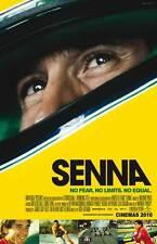 SENNA Movie MINI Promo POSTER Ayrton Senna Alain Prost Frank Williams
