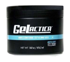 GELACTICA GEL 16.8oz Water base Organic ingredients Hair Gel for men