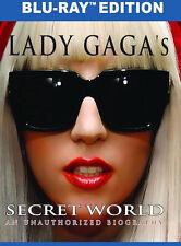 LADY GAGA'S SECRET WORLD (Lady Gaga) - BLU RAY - Region Free - Sealed