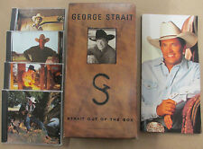 "Strait Out of the Box by George Strait Box Set ""Excellent Condition"" See Pics!!"