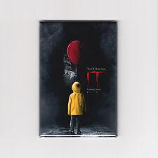 STEPHEN KING'S IT (2017) - MINI POSTER MAGNET (book movie vhs print clown shirt)