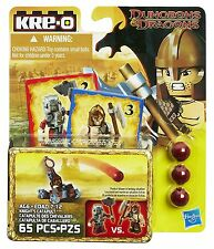 KRE-O Dungeons and Dragons Cavalieri Catapulta ARMI Pack