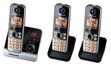 Panasonic Teléfono Kx-tg6723gb Inalámbrico Titan / negro
