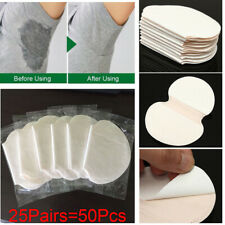 50PC Disposable Underarm Sweat Pads Armpit Absorbing Sheet Dress Clothing Shield