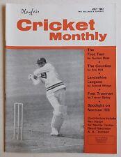 CRICKET MONTHLY Magazine - July 1967