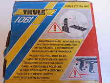 Attache fixation barre de toit peugeot origine 880516 NEUF THULE 1061