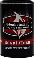 (100gr €4,13) Royal Flush Rub Udenheim BBQ neu 350gr