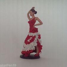 Flamenca - Figura en plomo - 9 cms de altura.