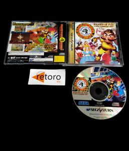CLOCKWORK KNIGHT Sega Saturn SS JAPONES