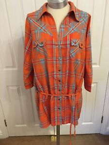 Ladies NEW Tartan Cowboy Shirt Size 20 By Yours