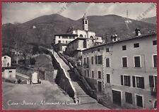 BRESCIA CAINO 01 MONUMENTO ai CADUTI - TRATTORIA del GIARDINO Cartolina v. 1958