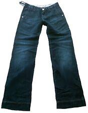 Orig.TAKE DOS Mod:BE ONE Azul Oscuro Pantalones Vaqueros Bootcut 28/34