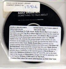 (CQ340) Badly Drawn Boy, Something to Talk About - 2002 DJ CD