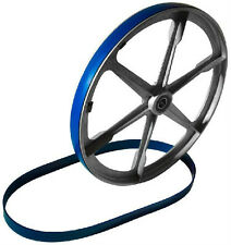 2 BLUE MAX URETHANE BAND SAW TIRES FOR DARRA-JAMES MODEL 385 C BAND SAW .