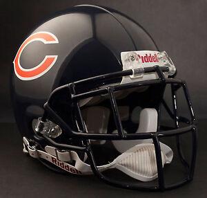 DEVIN HESTER Edition CHICAGO BEARS Riddell AUTHENTIC Football Helmet