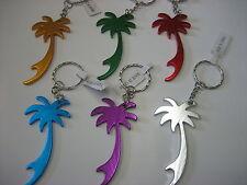 Lot of 12 pc Palm tree Key Chain / Bottle opener / New